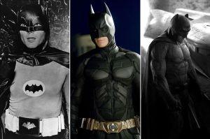 Batman-through-the-years